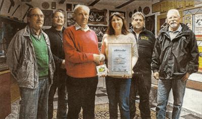 Fledermausfreundliches Haus in Muschenheim ausgezeichnet