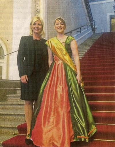 Ministerin trifft Königin