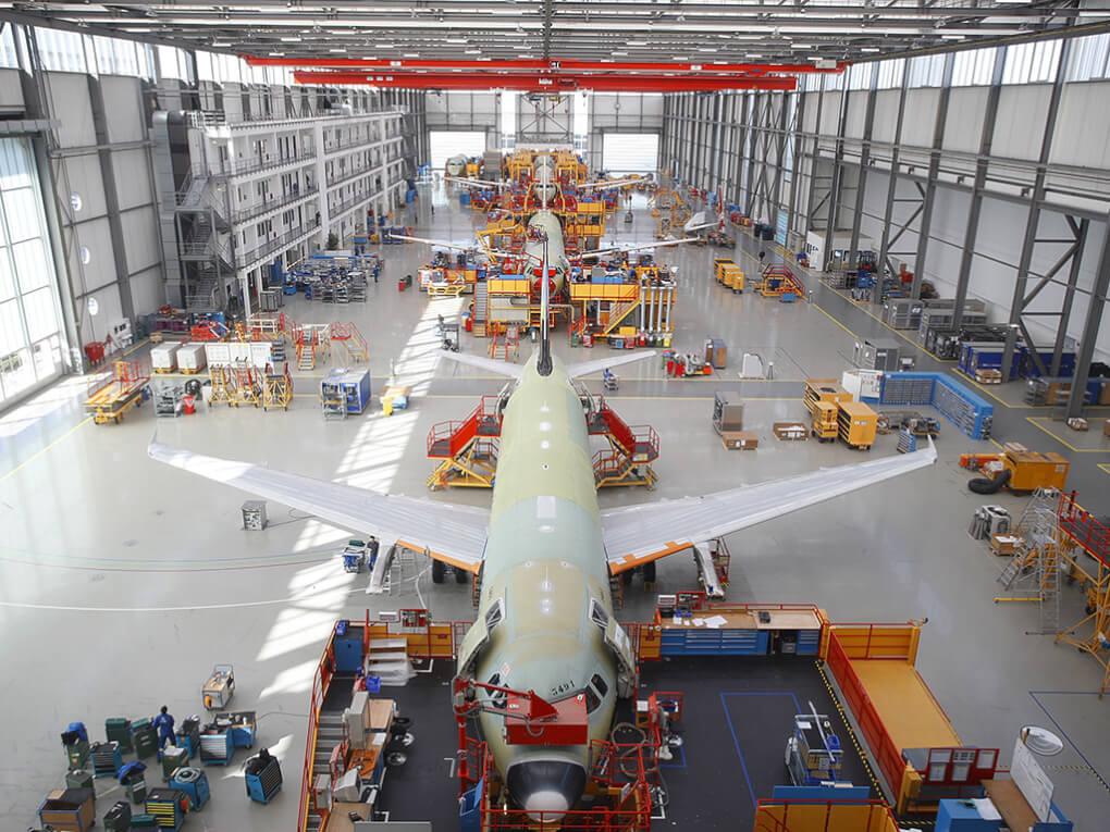 Naturschutzverein bei Airbus zu Gast