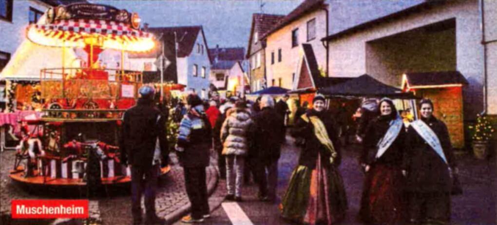 Weihnachtsmärkte im Landkreis